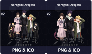 Noragami Aragoto v2 - Anime Icon by Rizmannf
