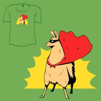 Woot Shirt - Super Llama by fablefire