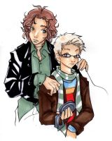 Roger and Mark by kaseyu
