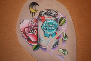 PBR can drawing. by EricTatt