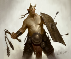 Demon Brute by LouisGreen