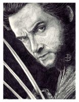 Hugh Jackman as Wolverine by ktalbot