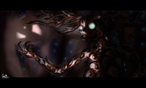 Over the Garden Wall - The Beast by CatTheCapricorn
