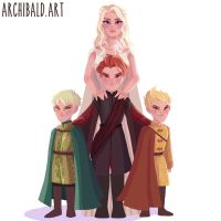Mother of Dragons by johngreeko