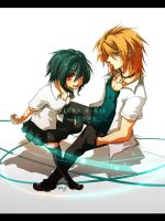 My sister. My brother. by hitogata