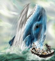 moby dick but with a warlord by Darchox