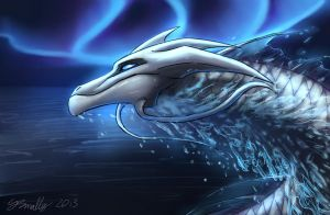Water Dragon by PurpleTigress