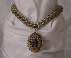 Gothic Necklace by Isilian