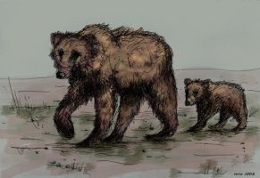 Mommy bear-concept art by Verine