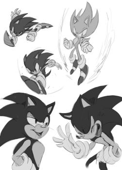 angry sketches by Shira-hedgie