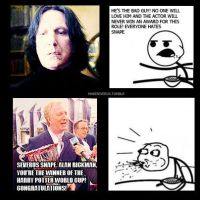 Alan Rickman meme by MarySeverus
