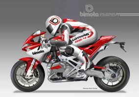 BIMOTA BB-4RR Sport Fighter Concept  - Rider by obiboi