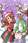 A Very Merry Bee and Puppycat Christmas by 0min0usHuman