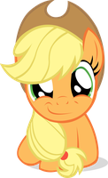 Applejack's Stare by YellowTDash