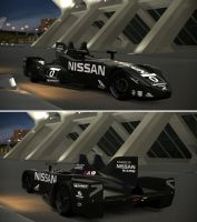 DeltaWing sponsored by Nissan at LeMans 2012 by GT6-Garage