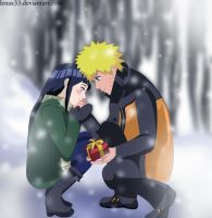 NaruHina: Valentine's day by Lenax33