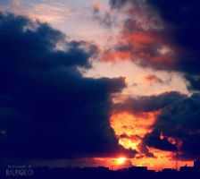 roaring clouds. by almostkilledme