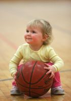 Shooting Baskets -- 1 by juliekswenson