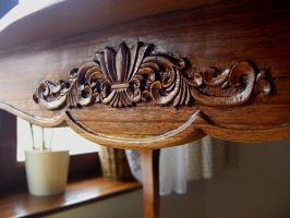 Table Louis XV. - 5 - carving detail by bengo-matus
