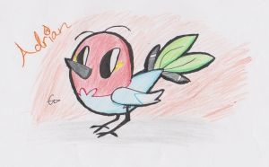 Adrian The Fletchling by Nerdy-Cupcake