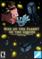 Rise of the Planet of the Squids: Skydoesminecraft by LowRend