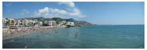 Sitges: Panoramica by pueyo