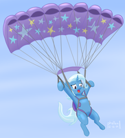 Trixie Takes Flight by phallen1