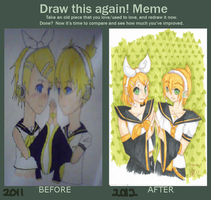 Before and after meme by Kuro-Rey
