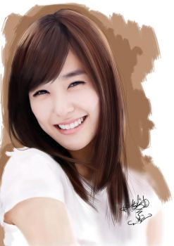 Painting SNSD Tiffany by aimgallagher