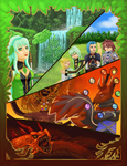 Creatures of Yggdrasil - Tales of Symphonia by snowhummingbird