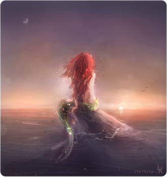 The Little Mermaid by JohnathanSung