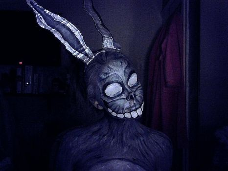 Frank Costume - Donnie Darko face paint by lgoresfx