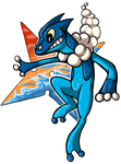 Frogadier by EctoDrool