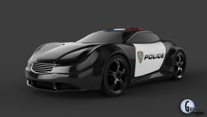 The Chase: Cop Concept 5 by talonboy3