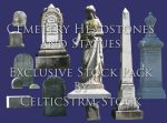 Headstone Exclusive Precut by CelticStrm-Stock by CelticStrm-Stock