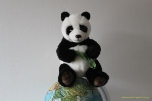 Panda rules the world by etiennia