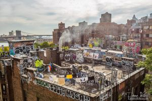 Art on the roofs of New York by LinsenSchuss