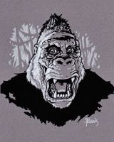 THE MIGHTY KONG by JollyGorilla