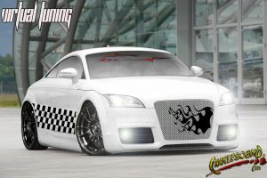 auditt 2006 branco tuning by CHARLESOUNDcar