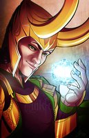 God of Mischief by Inkfall