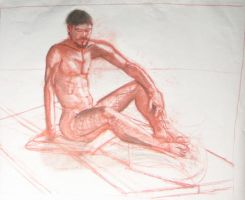 Life Drawing XXI by KerrithJohnson