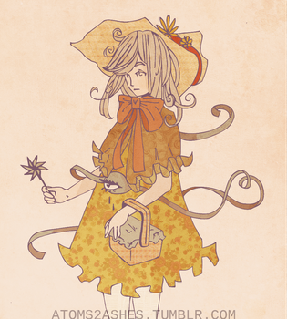 Touhous in Semi-Fancy Dresses 1 - Koishi by atoms2ashes
