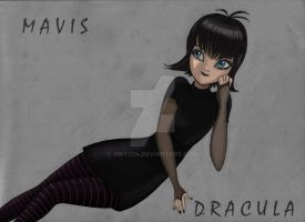 Mavis Dracula Art by Obito24