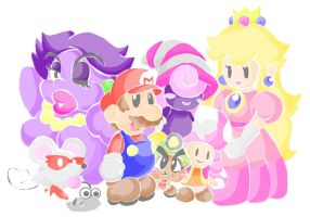 paper mario by Child-Of-Neglect