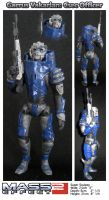 Super Sculpey 'Garrus' by Haddrian