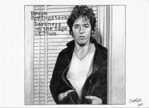 Bruce Springsteen - Darkness On The Edge Of Town by LandinDesign
