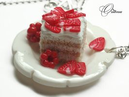 Strawberry cream 3 by OrionaJewelry