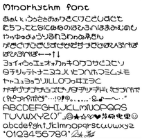 Minorhythm font by Seedmanc