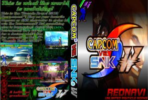 Capcom vs SNK -W- DVD Case by Dante909