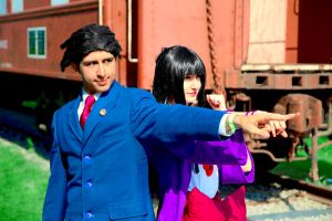 Ace Attorney: Outdoor Objections! by YamiSasha